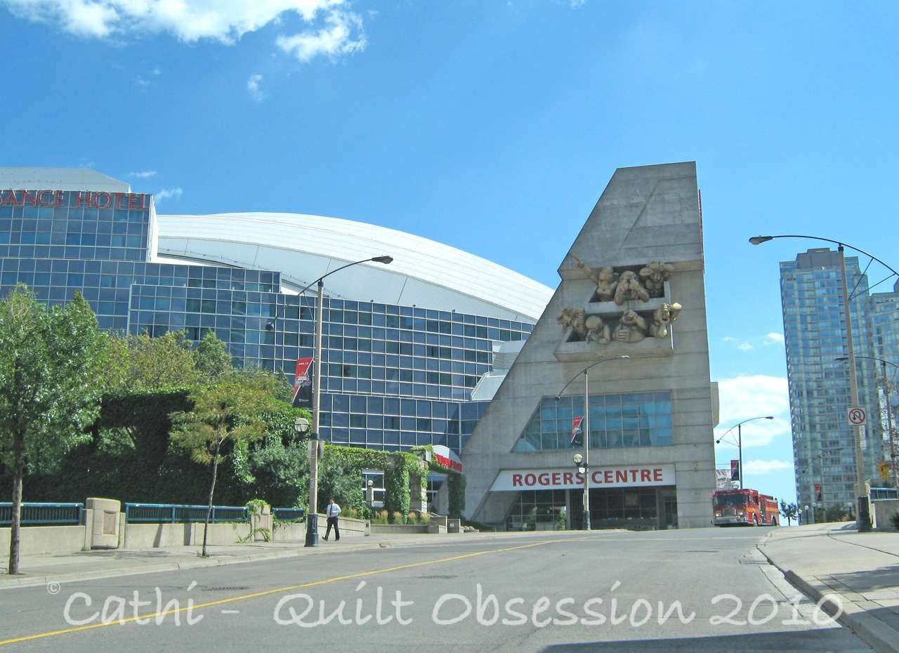 Air Canada Centre Quilt Obsession