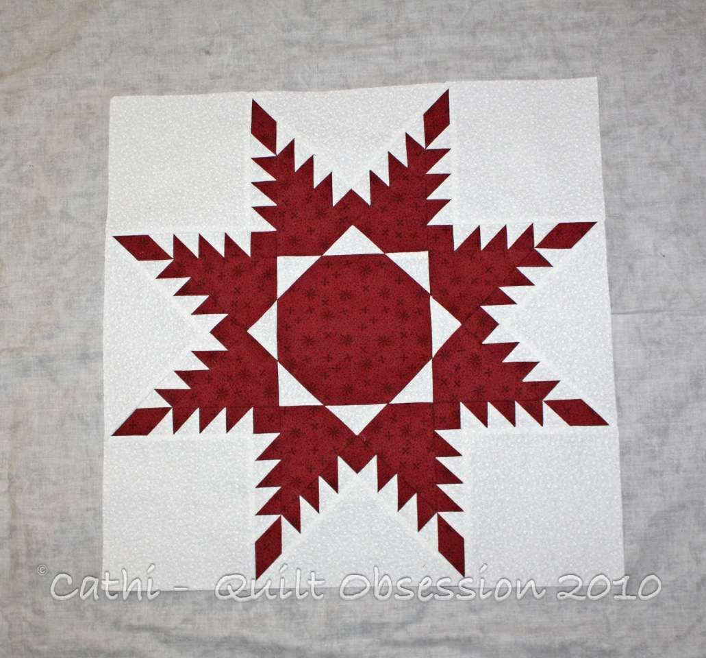 Feathered Star Quilt Obsession