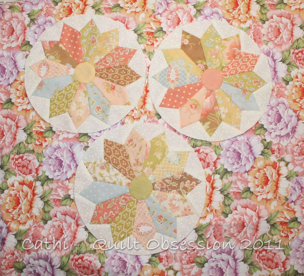 Dresden Plate Variations Quilt Obsession
