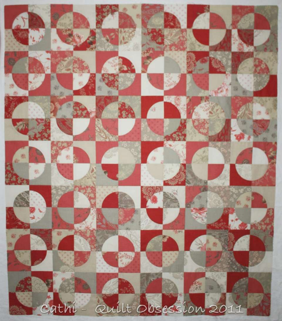 Drunkard's Path Quilt - The Easy Way! - YouTube