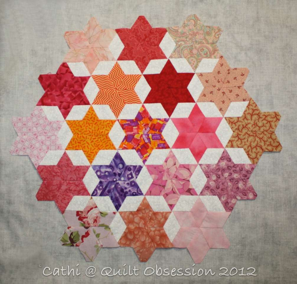 6 Point Stars Quilt Obsession
