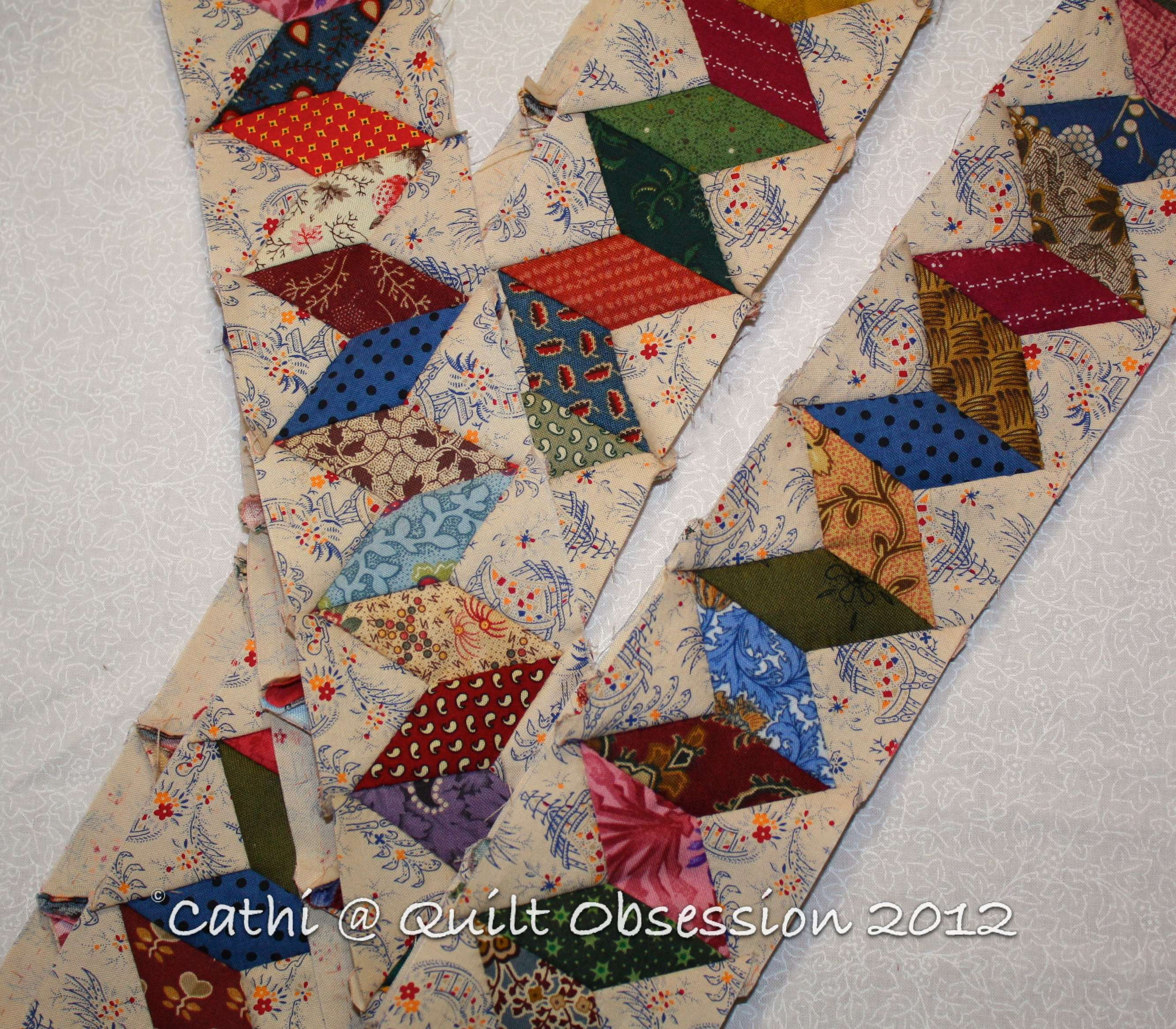 Ideas For Quilting Borders : Quilt Border Ideas on Pinterest Quilt Border, Cathedral Windows and Quilts