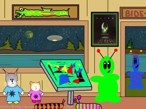 alien piecing tutorialwtmk