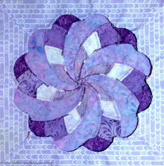 Anemone Ribbon Flower backwtmk