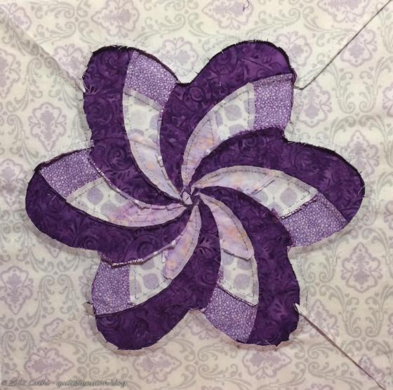 Back of Iris Ribbon Flowerwtmk