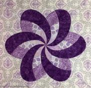 Iris Ribbon Flowerwtmk
