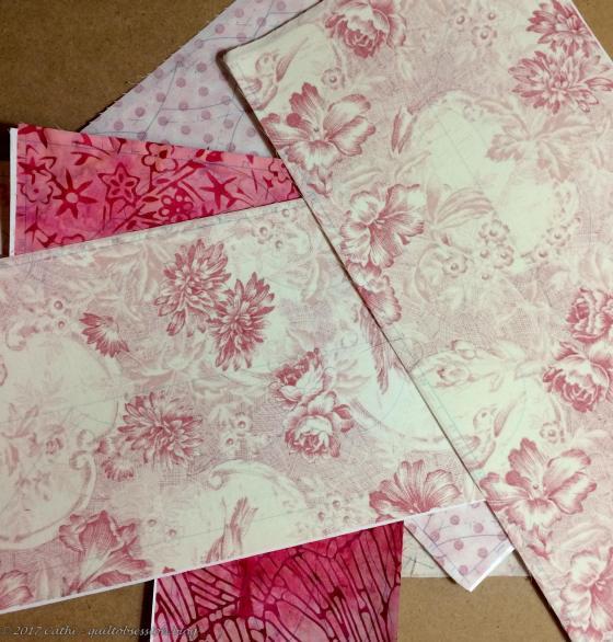 Pink Ribbon Flower pieceswtmk
