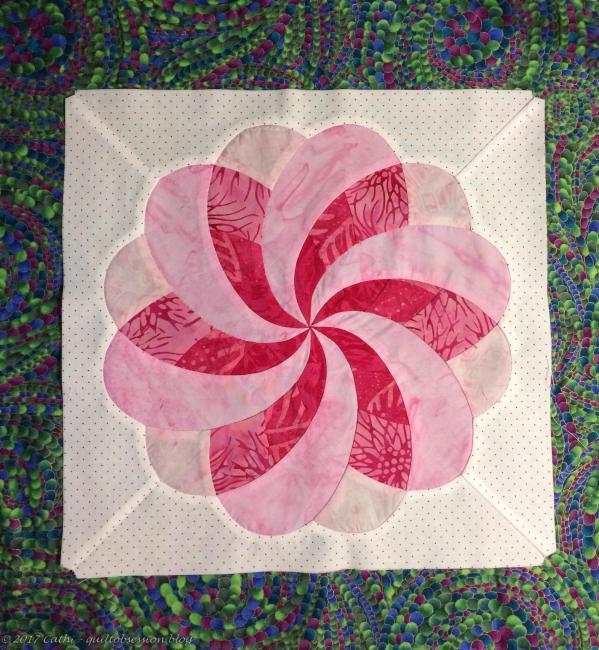 Ribbon Flower - Pinkwtmk