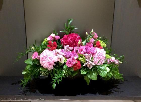 Lobby Flowers, August 11wtmk