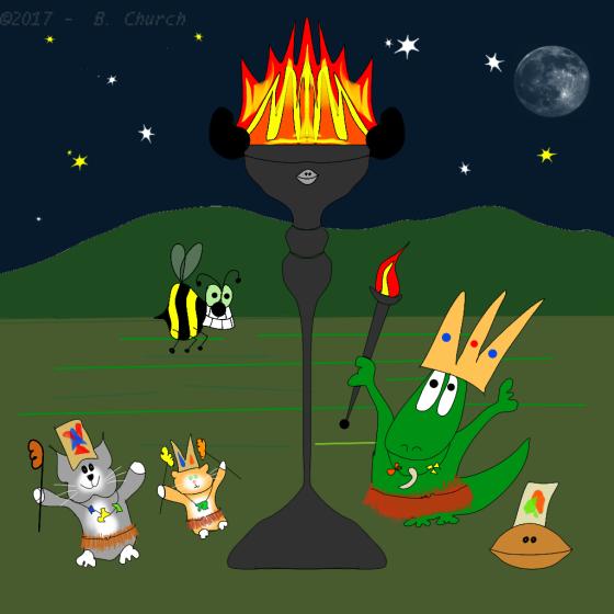 Night Fire Ritualwtmk