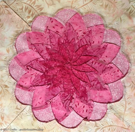 Pink Carnation Backwtmk