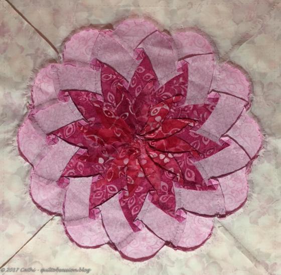 pink dahlia backwtmk