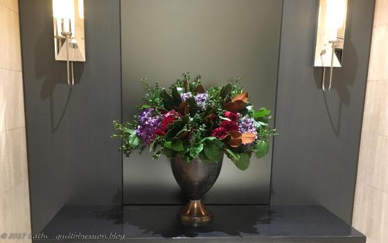 Elevator Lobby Flowers November 20, 2017wtmk