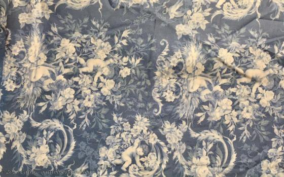 Blue and Cream Fabric IMG_1677wtmk