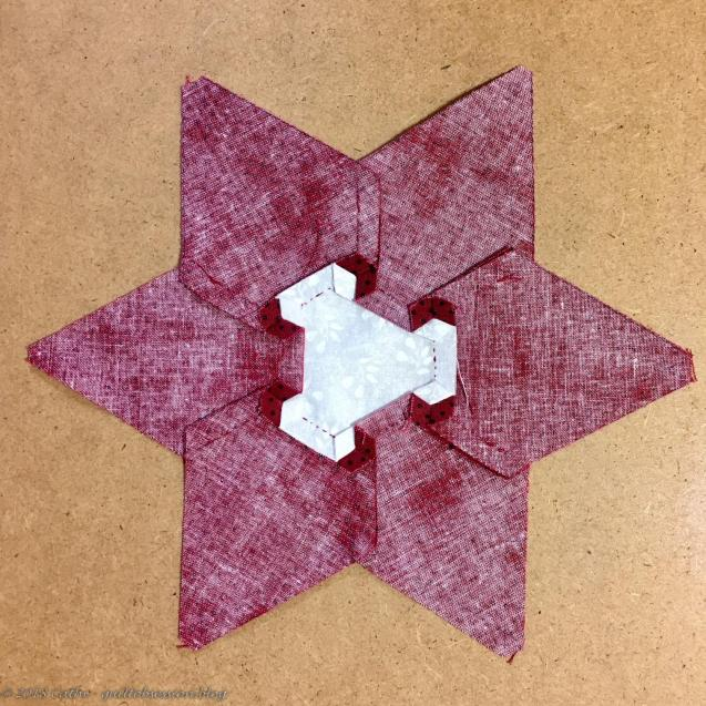 Back of finished, pressed star IMG_2099wtmk
