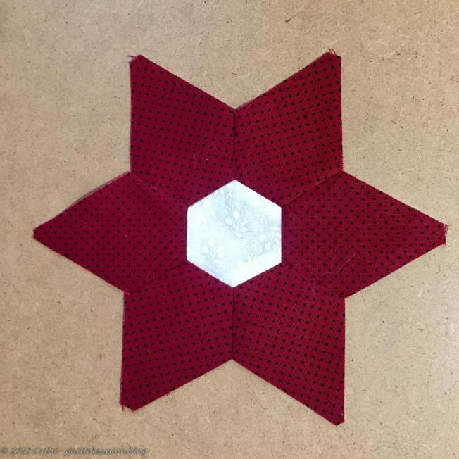 Finished, Pressed Star IMG_2098wtmk