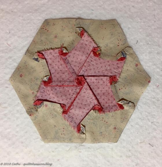 Back of Pink Pieced Hexagon IMG_2580wtmk
