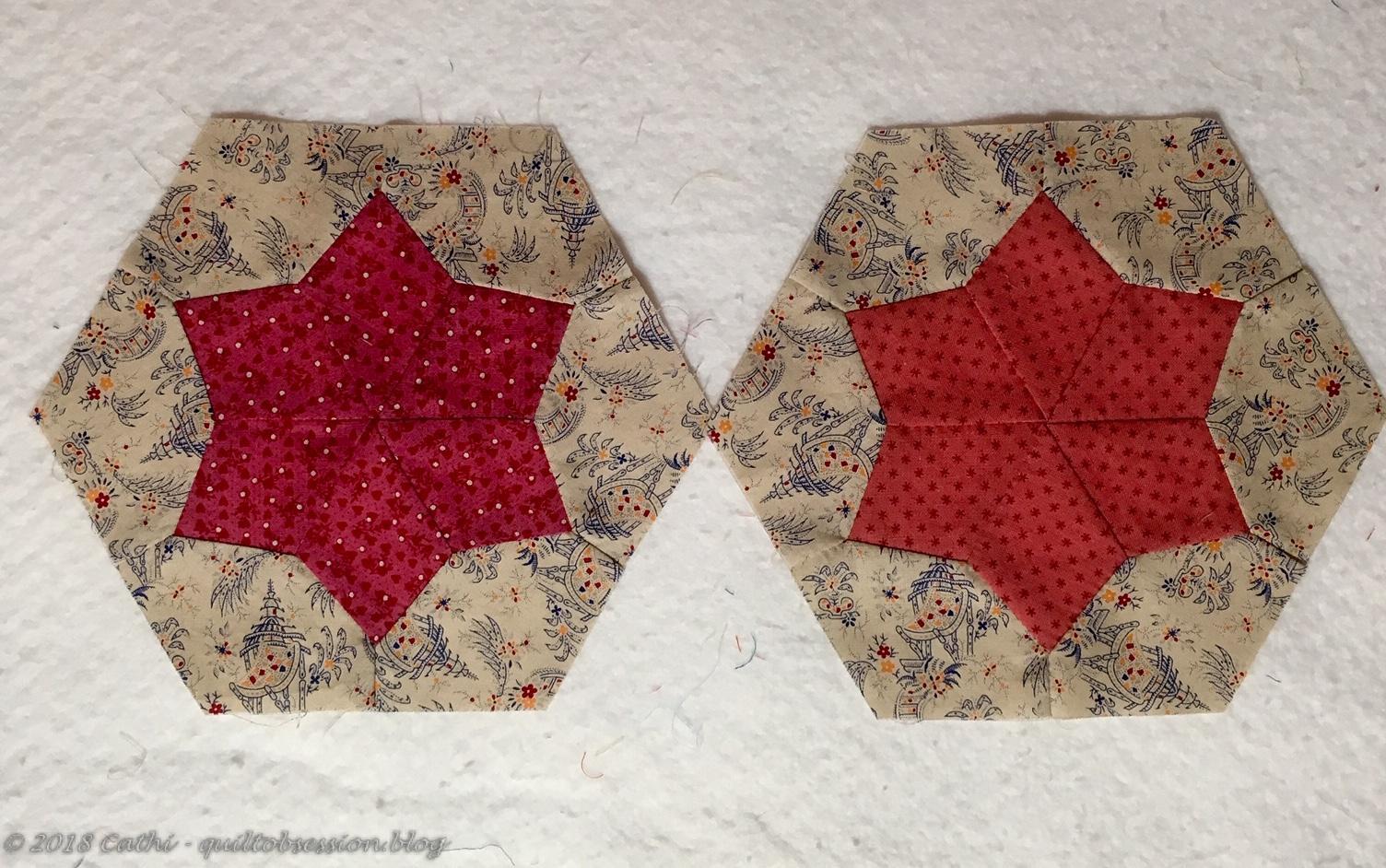 Pink Pieced Hexagon Blocks IMG_2579wtmk