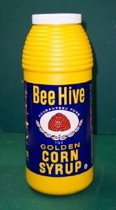 Bee Hive Corn Syrup bottle IMG_1013wtmk